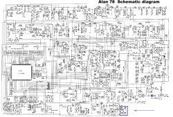 Alan 78 - Ciche brumienie przy odbiorze pomimo blokady szumów