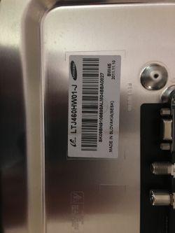 Samsung UE46D6750WS - pasek w górnej części ekranu, miganie tv szczególnie na HD