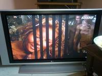 LCD LG RZ-42px11 problem z obrazem - pojawiaj� si� pionowe paski