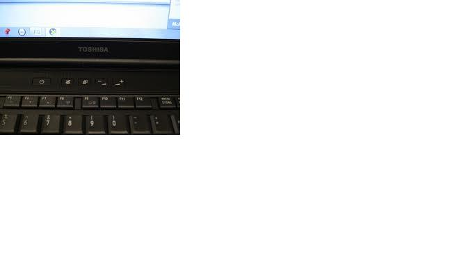 toshiba satellite pro s500 - przyciski nad klawiatur� nie dzia�aj� sprz�towo