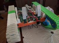 Kinect tank- autonomiczny robot wykonany w technologii druku 3d