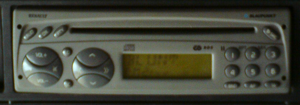 Radio Blaupunkt z Renault - czy mo�na wy��czy� ��danie kodu?