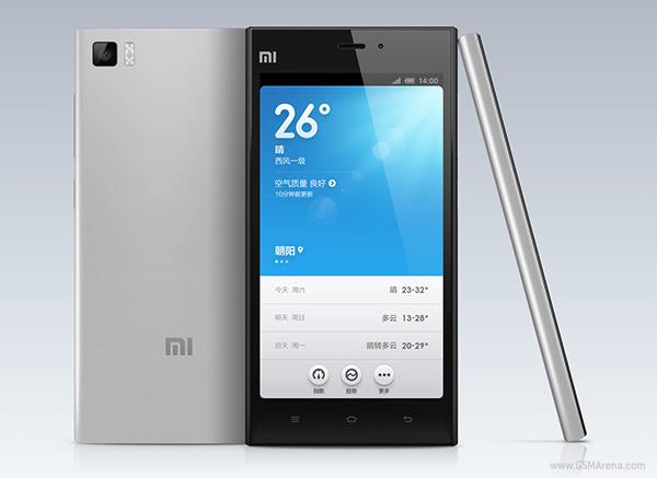 "Xiaomi Mi 3 - smartphone z 5"" ekranem FullHD, Snapdragon 800 w Indiach"