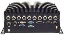 R6S - wzmocniony komputer z Core i7 i 10 portami LAN z PoE