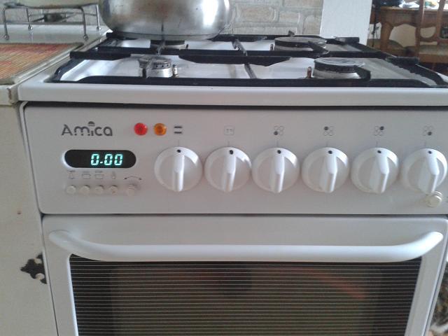 Gazowo-elektryczna Amica - Instrukcja obs�ugi.