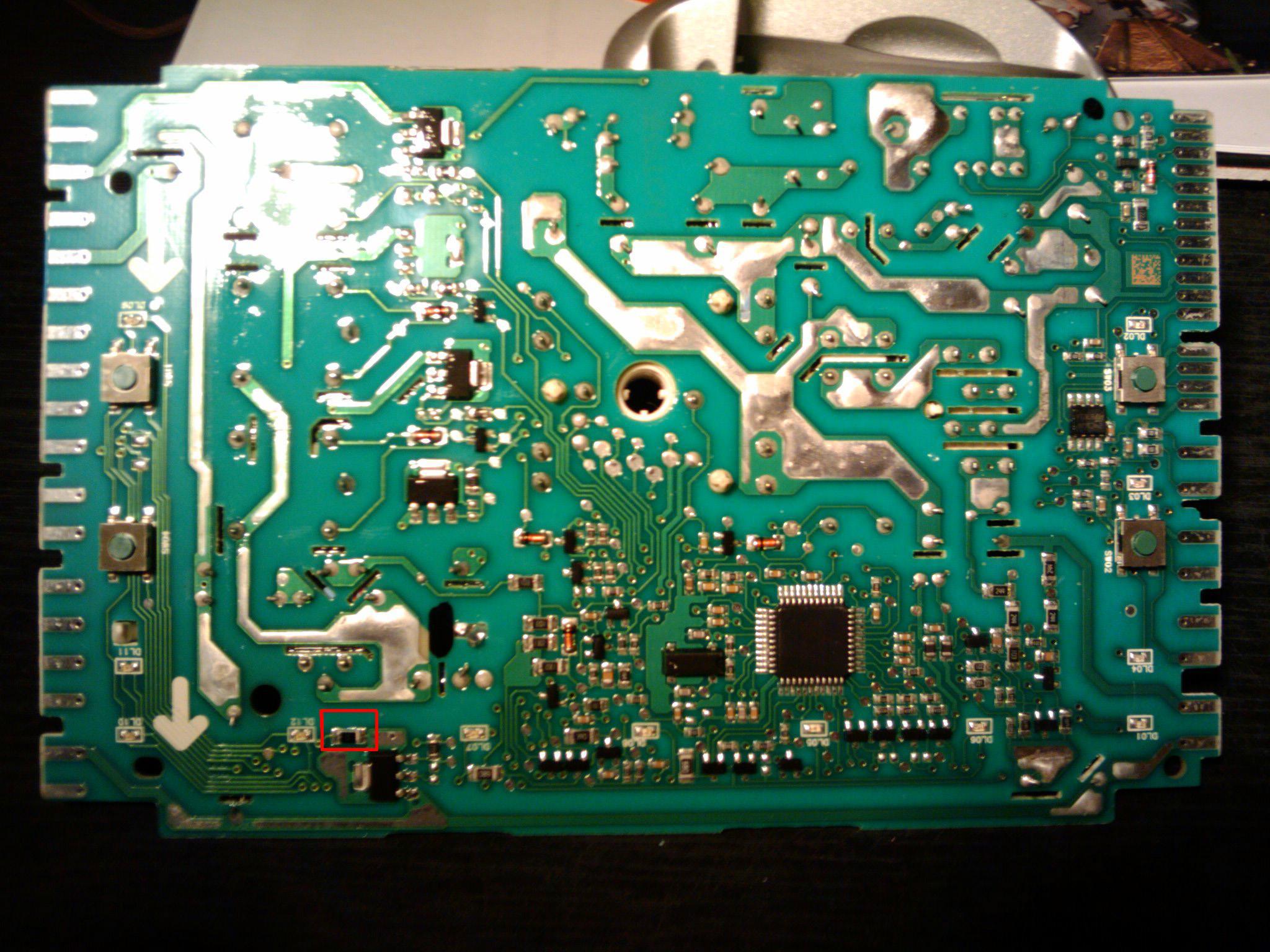 Pralka Polar PTL 1000 - uszkodzona elektronika.