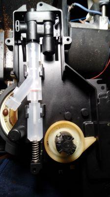 Ekspres Bosch TCA 5201, zablokowany zaparzacz