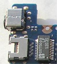 Samsung NP300E5C wyłamane gniazdo zasilania