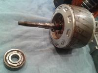 zmywarka BOSCH SGV46A13 cały dół w soli /nieszczelność uszczelki turbiny
