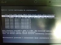 asus - Eee PC1001PXD system po instalacji z pendrive nie startuje