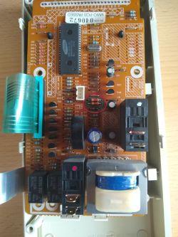 Samsung G643C - Zwarcie w mikrofalówce