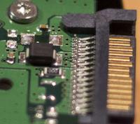 HDD Samsung 640 GB uszkodzona elektronika