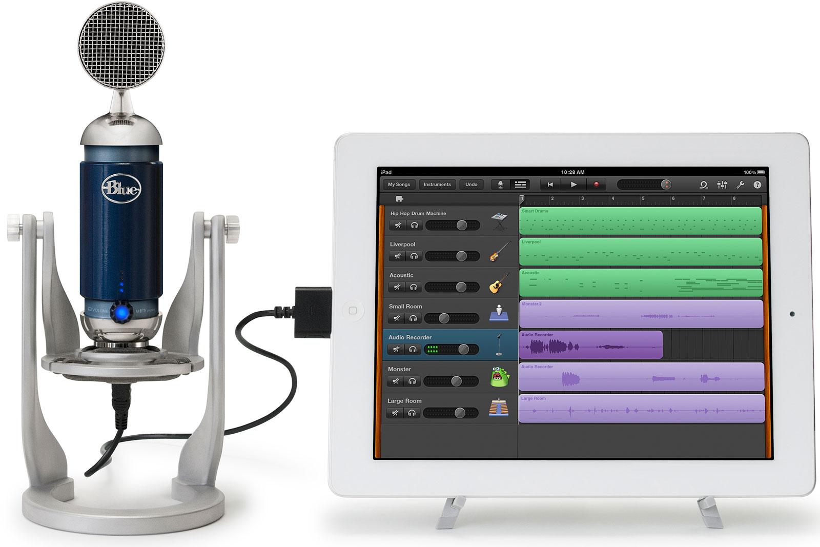 Blue Microphone Spark Digital - mikrofon z USB i oprogramowaniem dla iPad