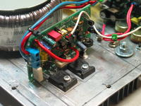 Subwoofer aktywny na 2x Tonsil GDN 25/40 w układzie izobarycznym.