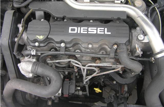 Opel Astra F 1,7DTL nadmierne spalanie