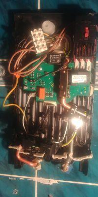 Siemens electronic DE1518 - Cieknie po naprawie i złożeniu
