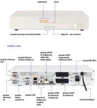 Dekoder Samsung SHD-85 - Podłączenie drugiego odbiornika TV