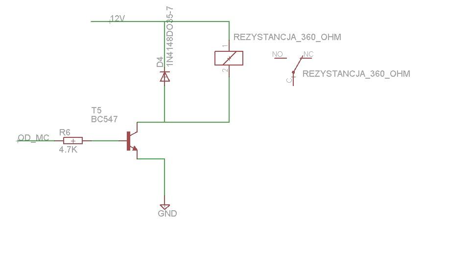 Mikrokontroler/Przeka�nik/Tran - Brak sterowania tranzystora