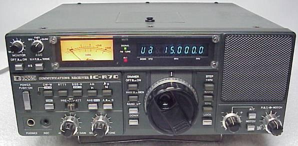 Icom IC-R70, ICR70 Instrukcja EN