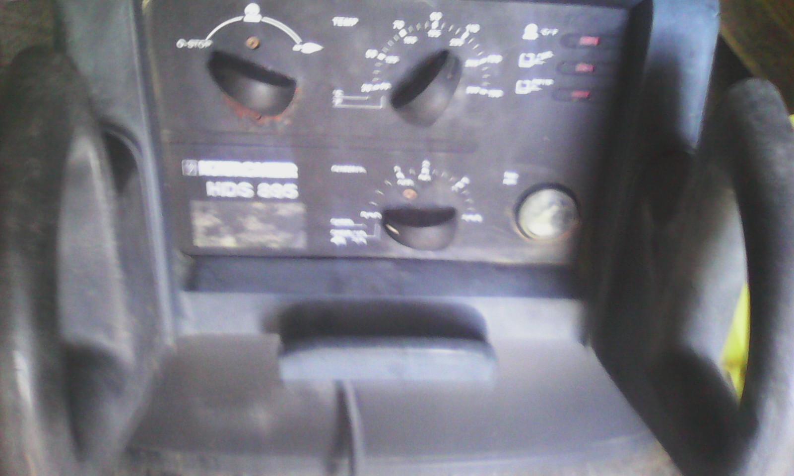Karcher hds 895 - sterowanie palnika
