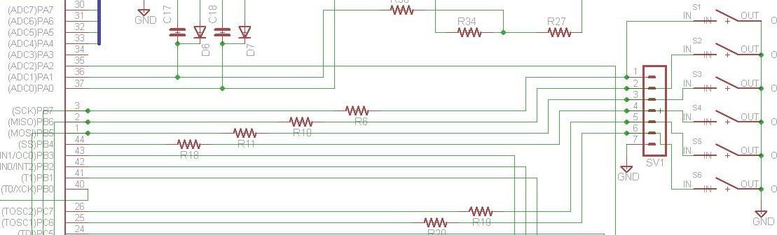 ATmega32 - Bascom + podczerwie� + zdalne sterowanie klawiszami