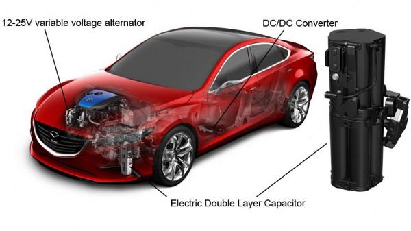 Nowy pomys� Mazdy na powi�kszenie wydajno�ci silnika, oparty na kondensatorach