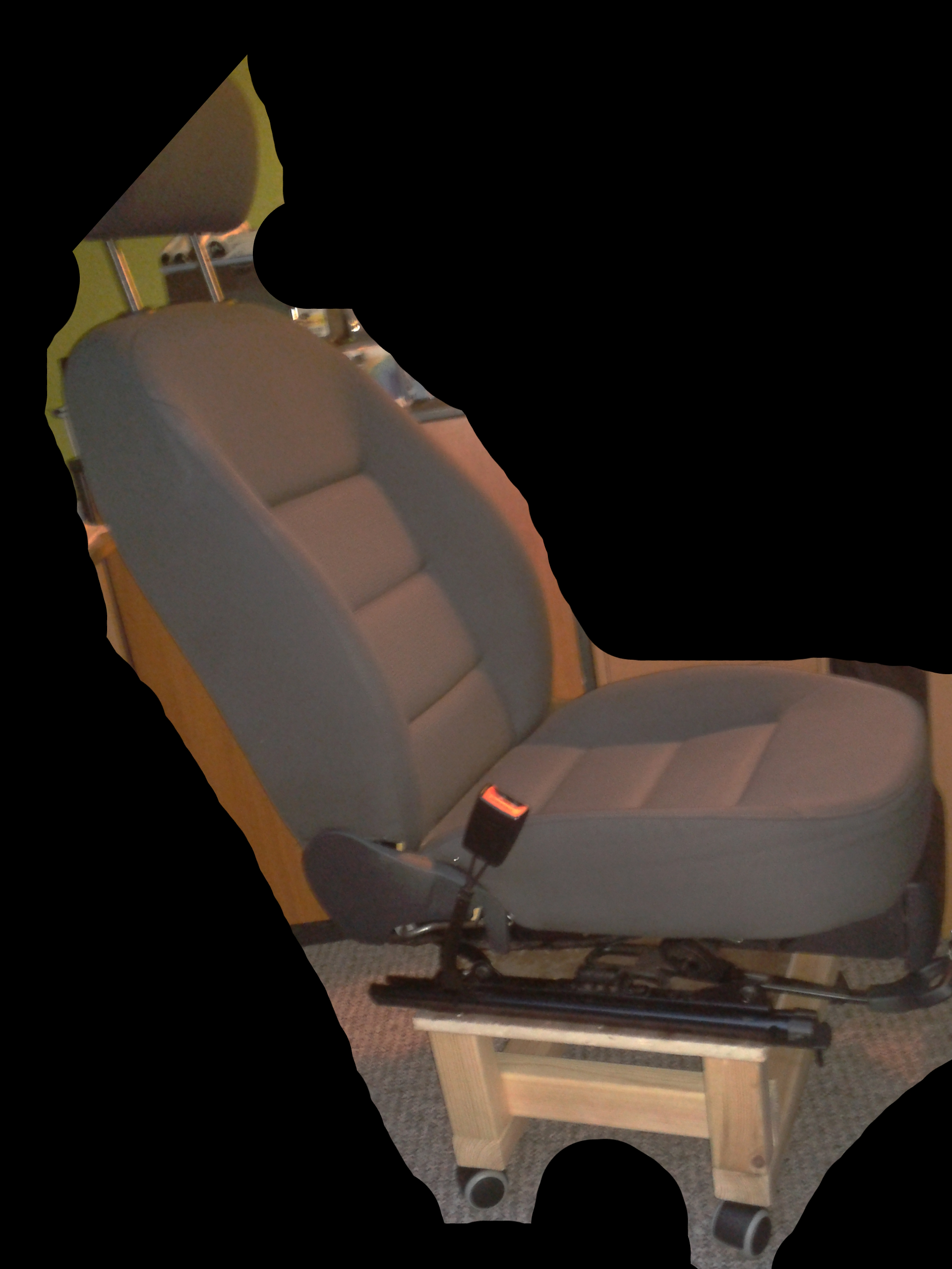 Fotel dla wysokiej osoby