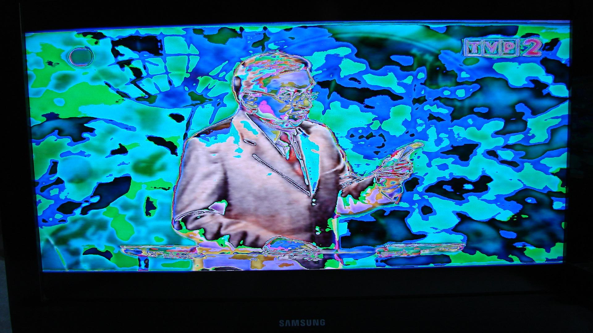 Samsung LE32B530P7W negatyw