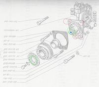 Władimirec T25a - demontaż pompy wtryskowej