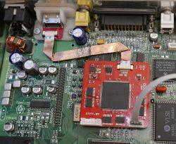 Rozbudowa c64 o wyjścia VGA/HDMI.