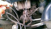 Peugeot 407 sw - wisząca rurka