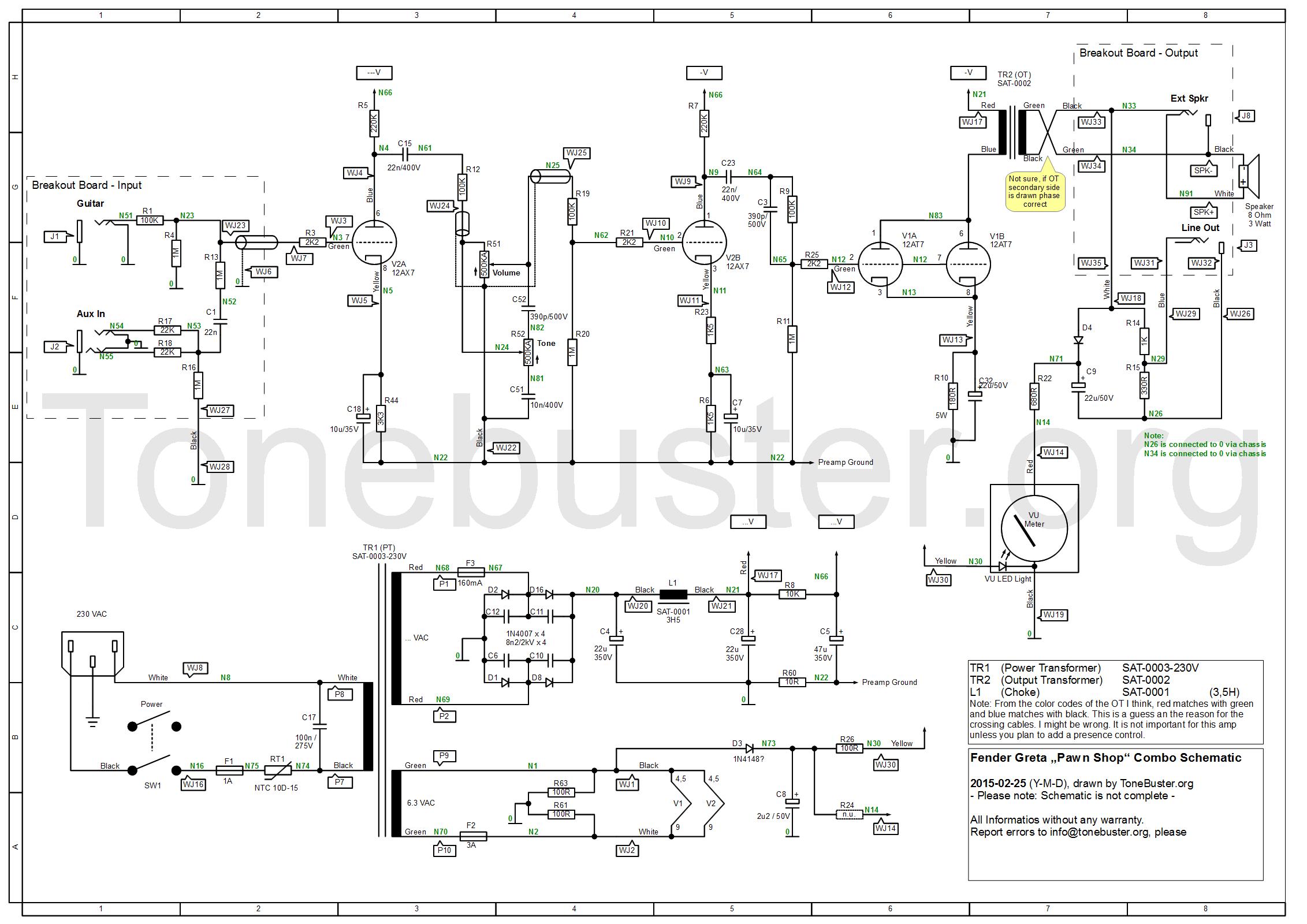 Beste Fender Mustang Schaltplan Ideen - Die Besten Elektrischen ...
