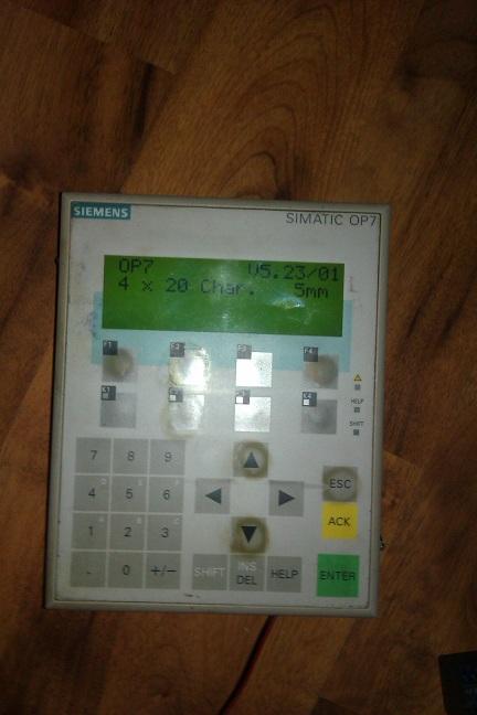 SIMATIC S7-300 312 CPU i SIMATIC OP7