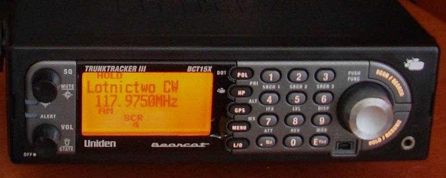 [Sprzedam] Sprzedam skaner Uniden BCT15X gwarancja 24 m-c.