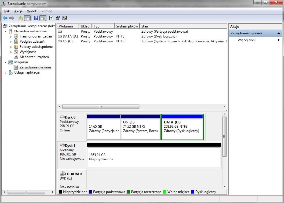 Brak odczytu dysku zewn�trznego po USB(wdbaau0020hbk-eesn)