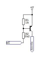 [Atmega8][C] - Tranzystor się nie 'domyka'(multipleksowanie)