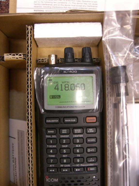 [Sprzedam] Skaner I-COM R-20, nowy, gwarancja.