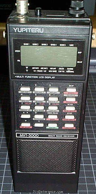 Yupiteru MVT-5000, MVT5000 Instrukcja EN