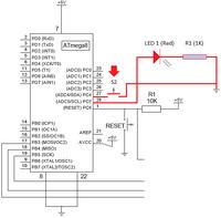 ATMEGA88P - przycisk - czy podłączyć rezystor?