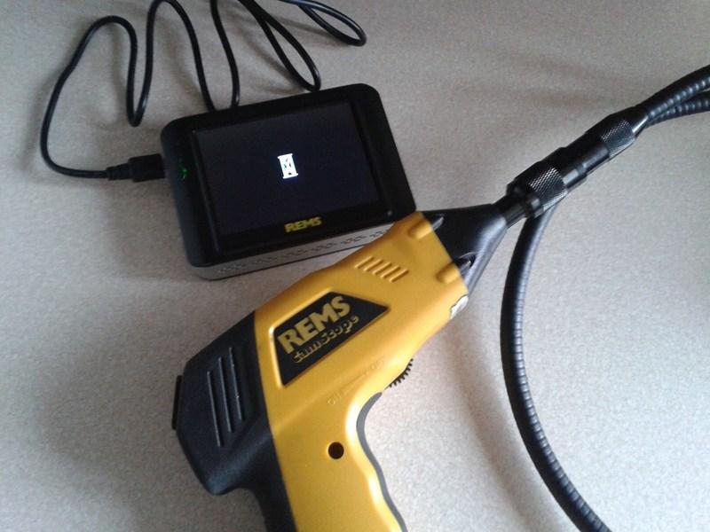 REMS CamScope - Kamera inspekcyjna endoskopowa B��d Po��czenia