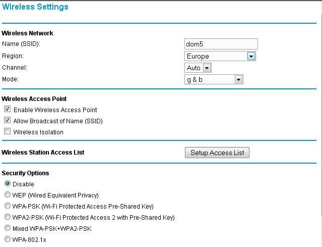 Po konfiguracji routera Nie dzia�a wi-fi