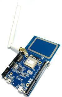 Ameba - zgodna z Arduino p�ytka prototypowa z RTL8195AM, Wi-Fi i NFC