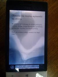 HTC 8S - Klej loca plamy - co to może być ?