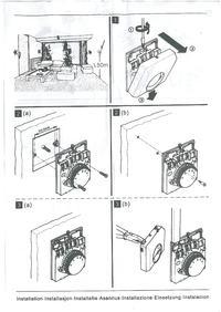 Pod��czenie prostego termostatu do si�ownika na rozdzielaczu pod�og�wki