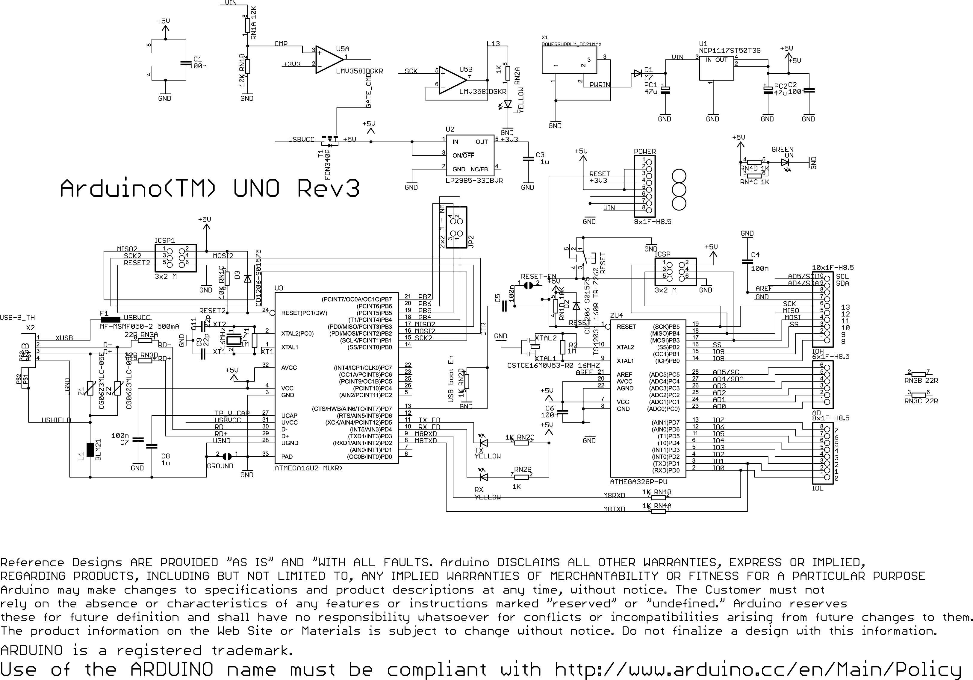 Atmega328 Wiring Diagram : Arduino uno zrobienie od podstaw elektroda pl