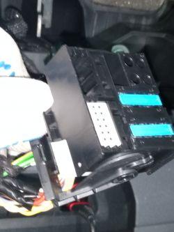 Citroen Jumpy III - Zamiana oryginalnego radia bez navi na oryginalne z nawi