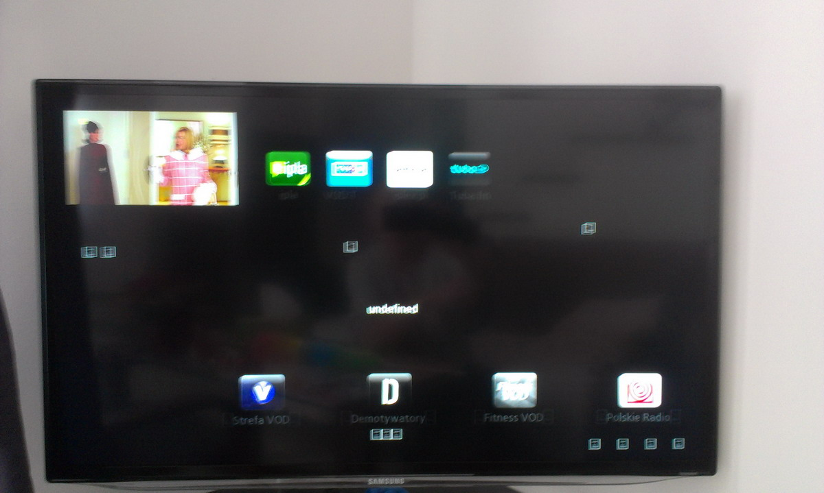 Samsung UE32E6100 - Nie dzia�a smart tv