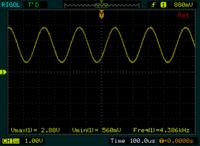 [ATSAM4S16C][C/AtmelStudio] - Przetwornik DAC - poziomy generowanych napi��.