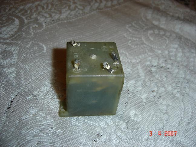 Szczelina magnetyczna w transformatorze impulsowym