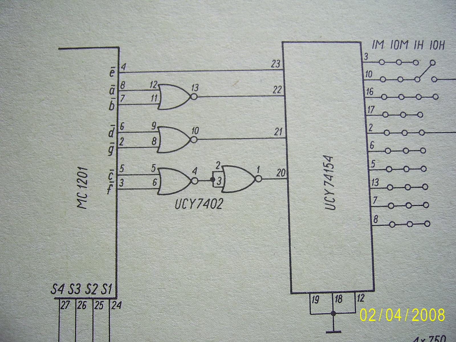 Kod 7-segmentowy na BCD, jakim układem scalonym?